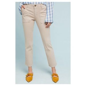 Anthropologie Utility Cropped Bootcut